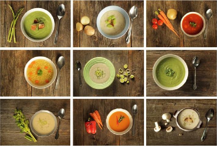 stravovací program - polievky