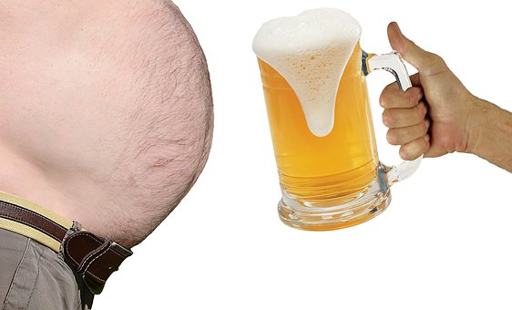obvod pása obezita